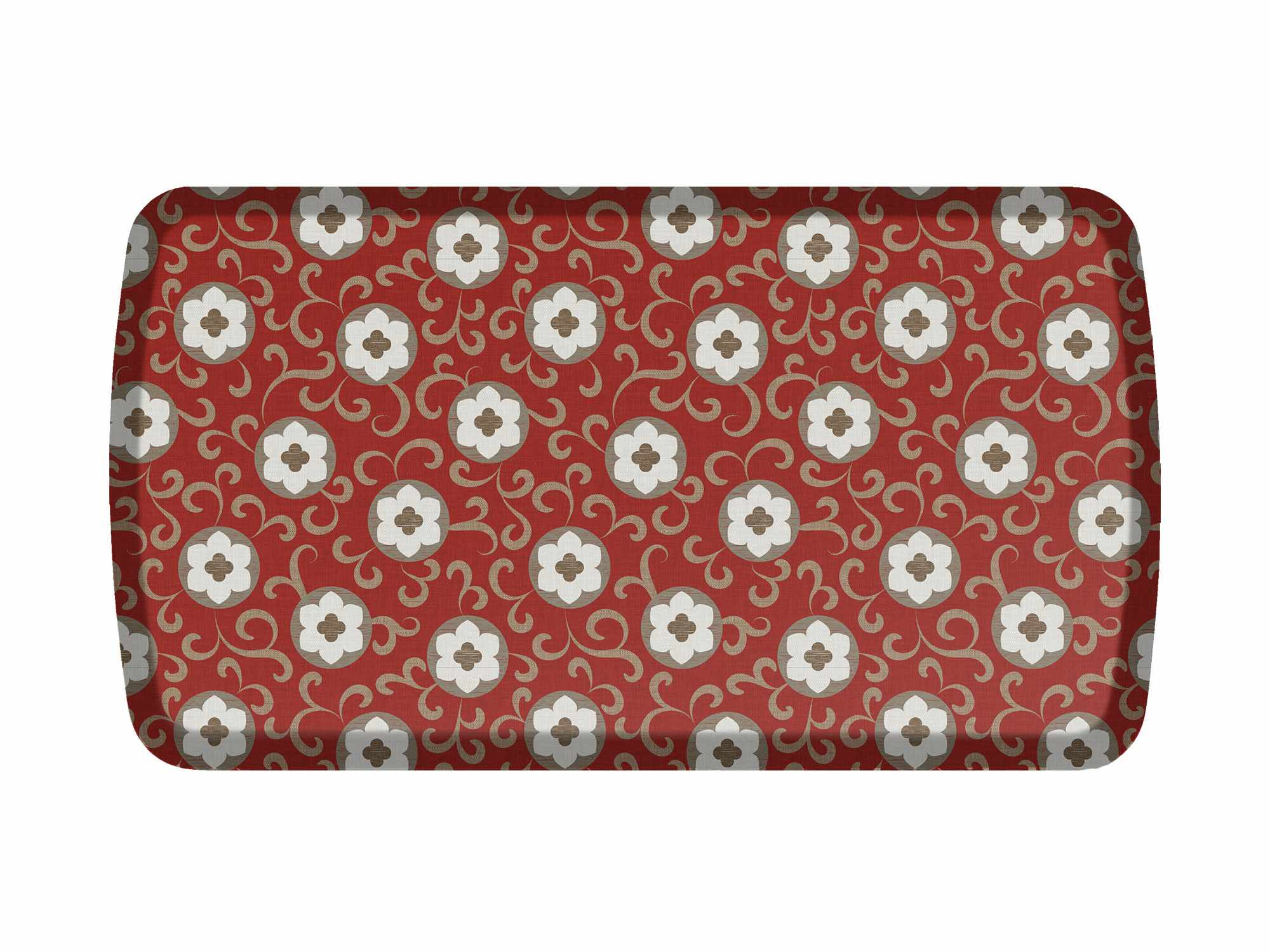 Charmant Flower Floor Mats | Comfort Chef Kitchen Mat