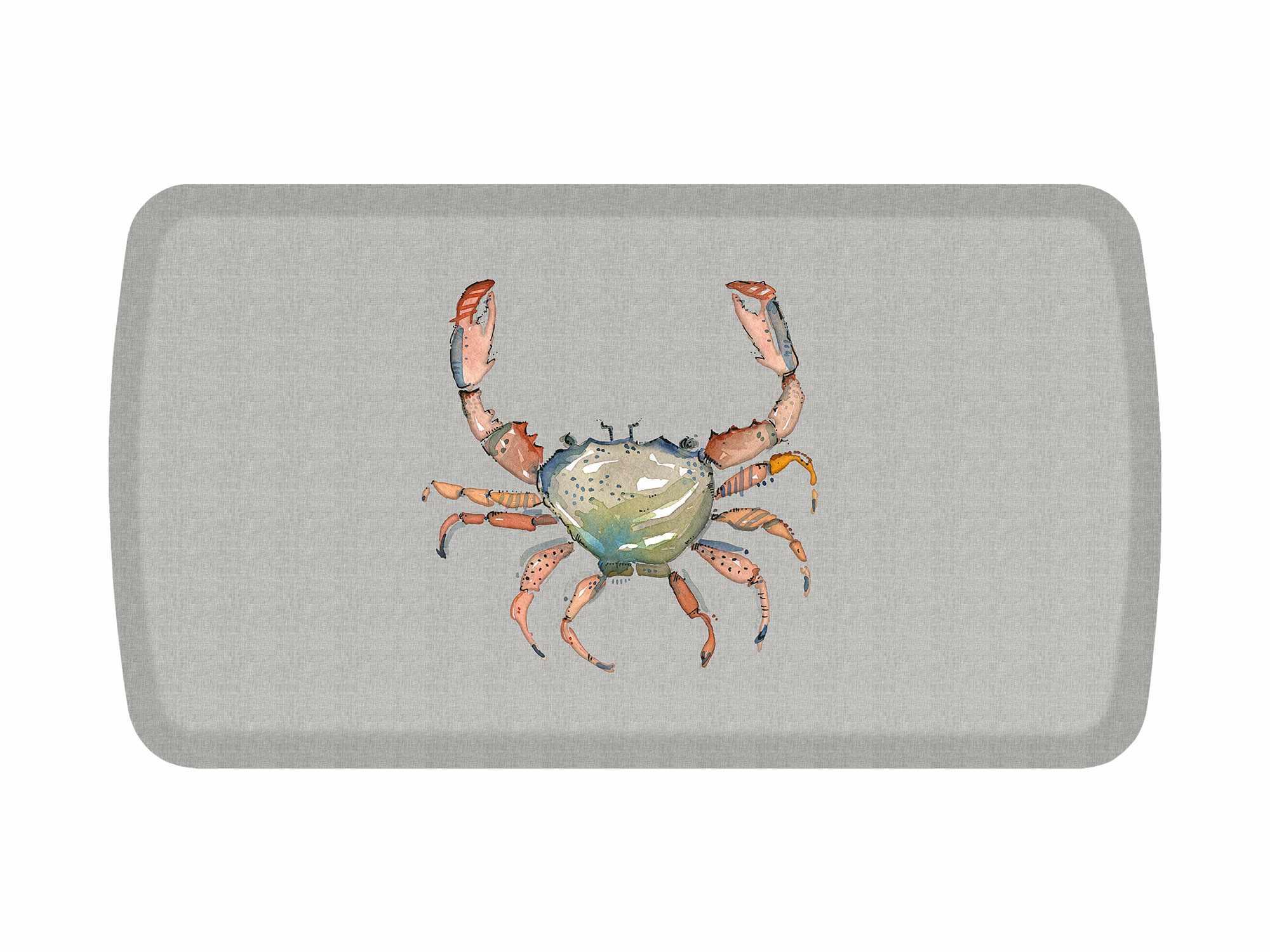 GelPro Elite Mat Decorator Collection Summer Crab