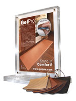 GelPro anti-fatigue kitchen floor mats offered by independent retailers