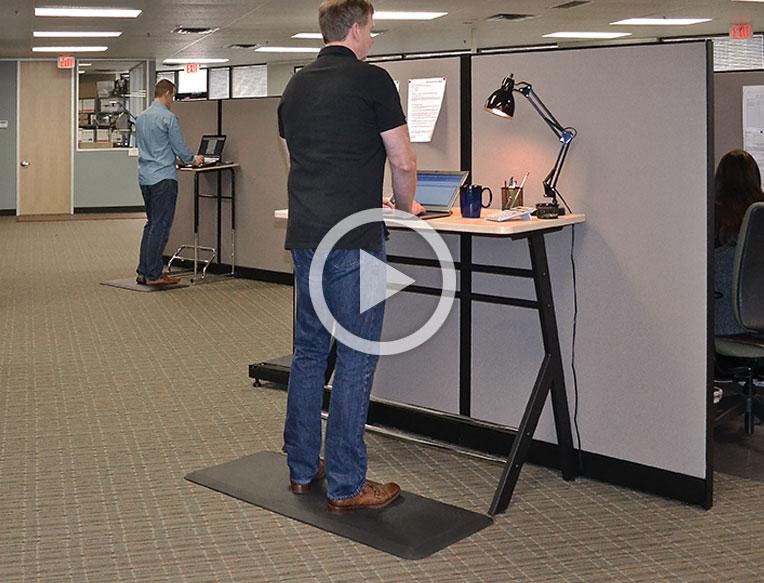Superbe GelPro Stand Up Desk Mat