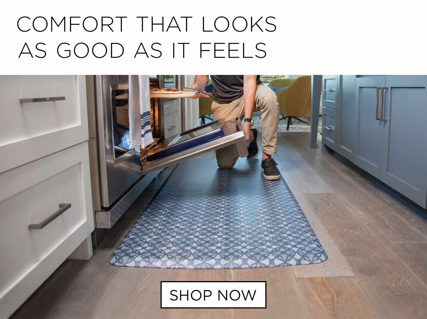 Kitchen Floor Mats For Comfort The Ultimate Anti Fatigue Mat From Gelpro